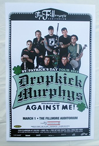 2011 Dropkick Murphys Against Me Concert ()