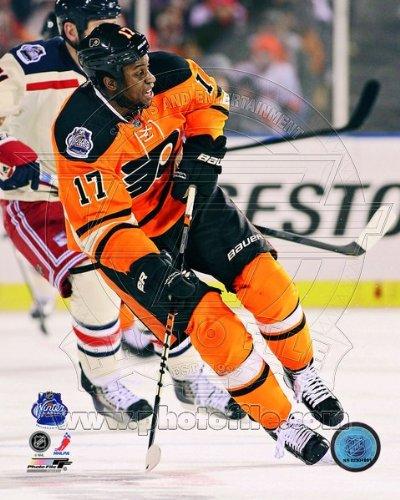 Wayne Simmonds Philadelphia Flyers 2012 Winter Classic Photo 8x10