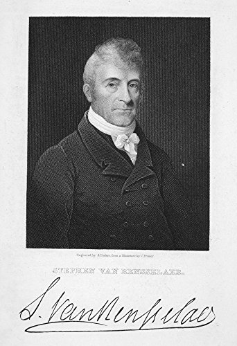 (Stephen Van Rensselaer N(1764-1839) American Soldier And Politician Steel Engraving 1835 After A Miniature By Charles Fraser Poster Print by (24 x 36) )