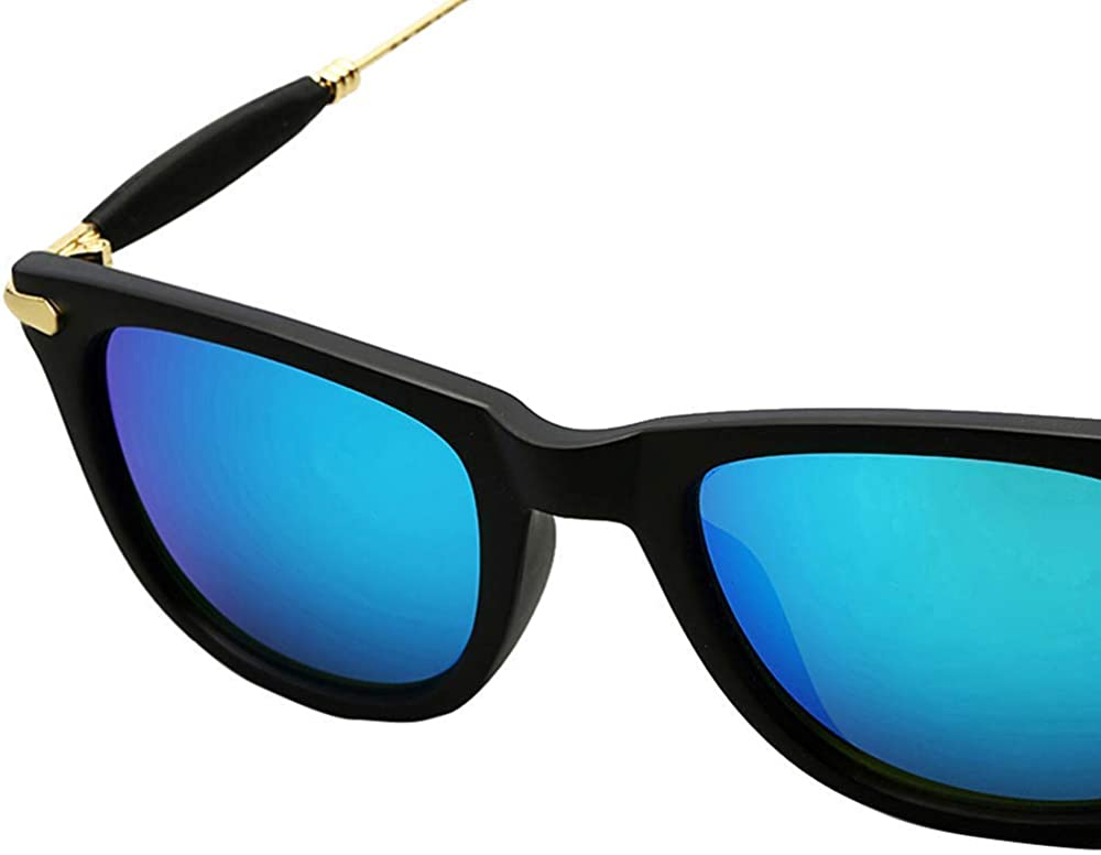 Rex Tony Stark Style Men's Sunglasses (Blue) thumbnail