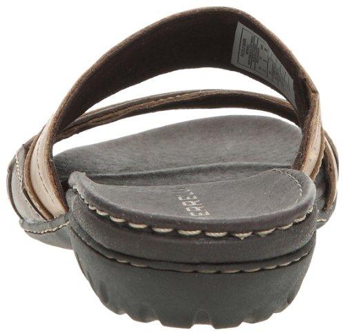 Merrell - Sandalias de cuero para mujer Marrón
