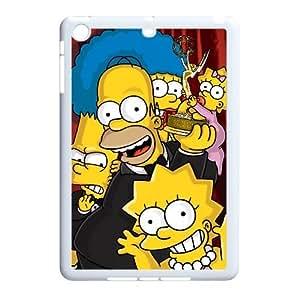 WJHSSB Diy case The Simpsons customized Hard Plastic Case For iPad Mini [Pattern-6]