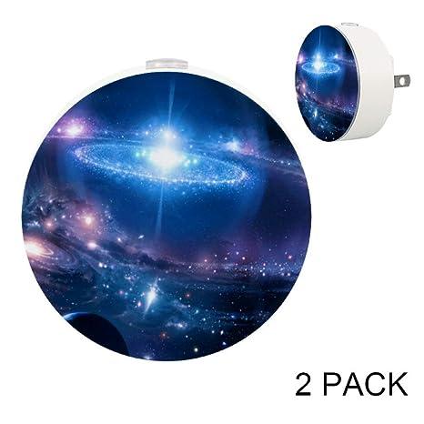 Lorvies Wallpapers Cosmic Desktop Plug In Led Night Light