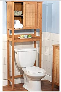 High Quality Target Marketing 23040NAT Bamboo Space Saver Cabinet, Bamboo