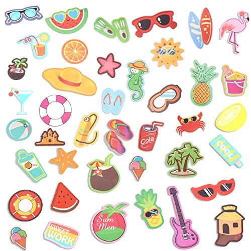 (Hawaii Paper Stickers for Kids Summer use Waterproof Stickers Pack of 80)