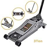 SUNCOO 3 Ton Floor Jack Stands Ultra Low Profile Heavy Duty Steel