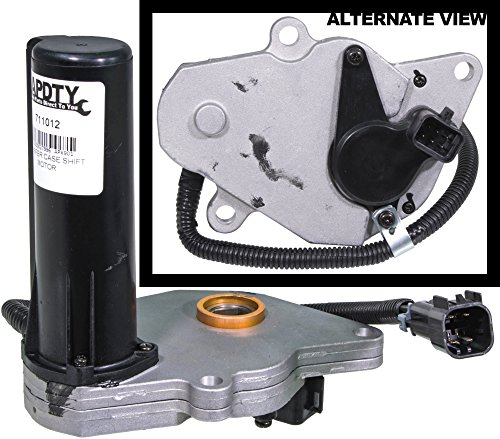 APDTY 711012 Transfer Case Four Wheel Drive Actuator aka 4WD 4x4 Transfer Case Encoder Shift Motor (Replaces GM 12474401, Isuzu 8124744010)