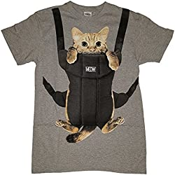 Kitty Cat Carrier Graphic T-Shirt - Large