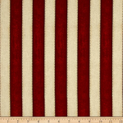 (Blank Quilting American Honor Stripes Red Fabric by The Yard )