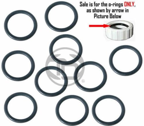 10 Pack POLARIS 360 Pool Cleaner Hose Nut /Retainer O-rings for 9-100-3109 - Nut O-ring
