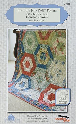 Hexagon Quilt Patterns - The Quilt Room The Hexagon Garden Pattern
