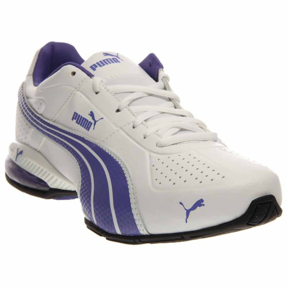 PUMA Women's Cell Surin Running Shoes, White Blue Style 186453 12 Size 8.0M