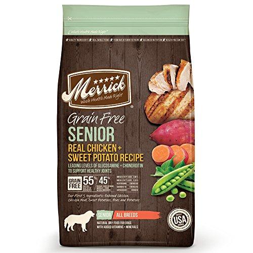 - Merrick Grain Free Senior Dog Food