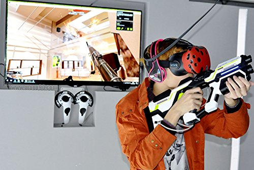 SHOPUS   MAG P90 VR Gun Controller for HTC Vive Steam VR Virtuix