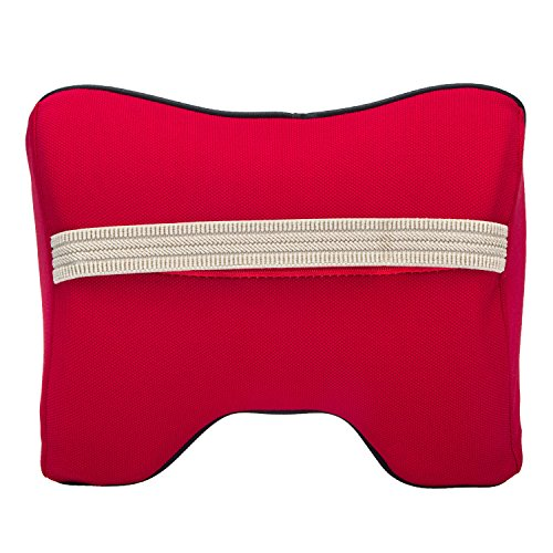 Car Neck Support Pillow for Driving, Car Seat Headrest Pillow with Soft Memory Foam (Red) by ComfyWay (Image #6)