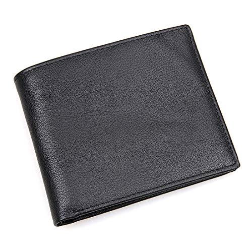 Black Pelle Cross scan Yumuymey wallet Portafoglio Anti Lychee Black color Ydxnbgcjm In Rfid qFRwTZHx7x