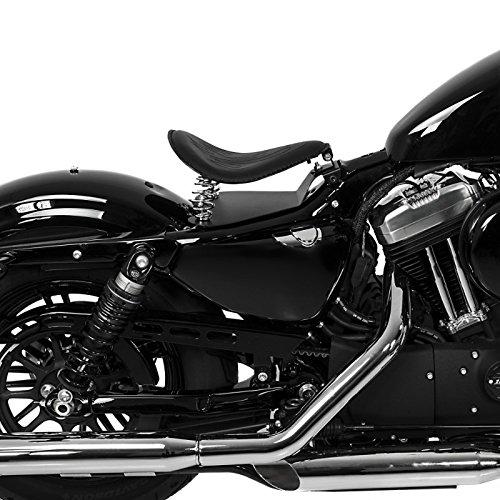 Springer Classic Street 750 Selle si/ège solo SG14 noir pour Harley Davidson Sportster 1200// CA Custom//CB Custom//Custom//Low//Nightster//Roadster//Sport//T Superlow