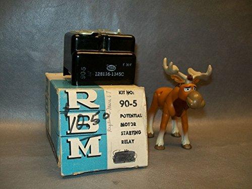 RBM 128116-1345C Potential Motor Starting Relay Kit No. 90-5 (Potential Starting Relay)
