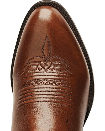 Lucchese Bootmaker Men's Carson-Ant Bn Lonestar Calf Cowboy Riding Boot, Antique Brown, 12 D US by Lucchese Bootmaker (Image #4)