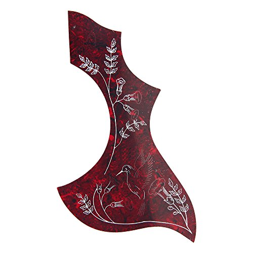 Hummingbird Acoustic Guitar Pickguard Adhesive PVC for Gibson/Epiphone ()