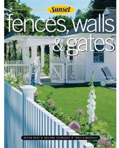 Cheap  Fences, Walls & Gates softcover: Building Techniques, Tools and Materials, Design Ideas