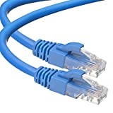Cat6 HISVISION Ethernet Patch Cable (50 Feet) - Network, Patch, Internet Cable, 550MHz, 10Gbps - RJ45 Computer Network Cord