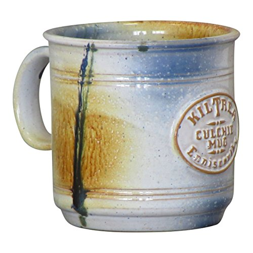 Irish Culchie Mug Blended Native Irish Clay Hand-Glazed Hand-Thrown Pottery Coffee Cup 450ml