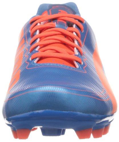 Puma evoSPEED 5.2 FG - Zapatos de fútbol de material sintético hombre Azul (Blau (sharks blue-fluro peach-fluro yellow 05))