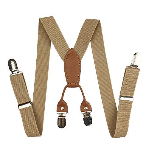 Kids Suspenders, Cinny Elastic Solid Color 1