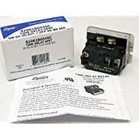 SUPCO S106-1B-65-45C Spdt Time Delay Relay, 55 to 70 seconds on Time Delay, 45 to 80 seconds Off Time Delay