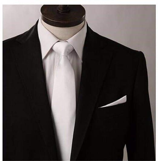 LBBJJ Corbata de Moda clásica Versión Coreana Estrecha de 7 cm de ...