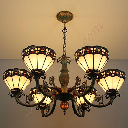 ETERN European Retro Minimalist Chandeliers Pendant Light With 6 Lights