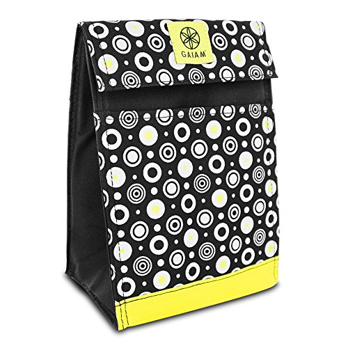 Gaiam 305347 Lunch Sack Circles