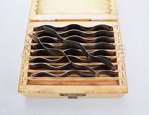 Accusize Industrial Tools 9 Pairs Wavy Parallel Set, 1/2'' to 1-1/2'' by 1/8'' Increment, Eg10-1440