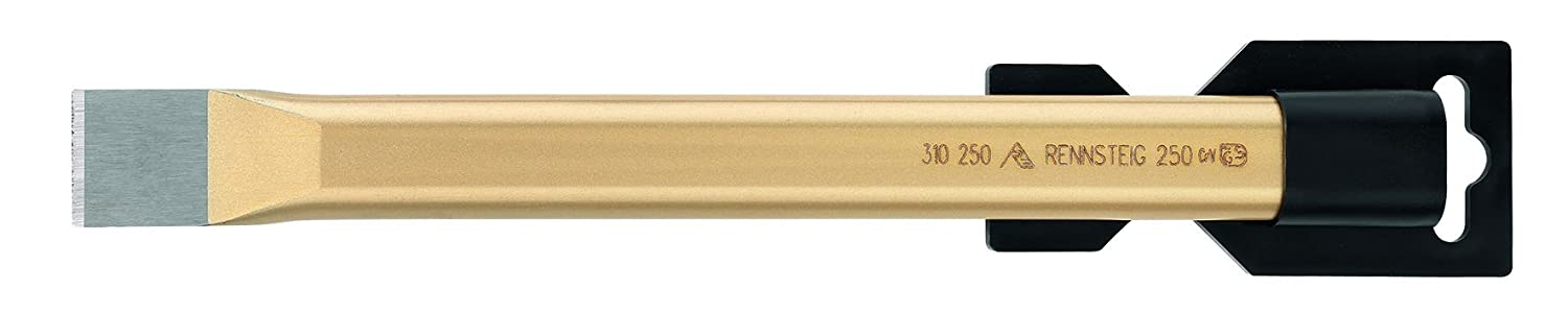 Rennsteig 310 250 0 Polished Flat Cold Chisels, Gold, 250 mm