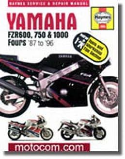 h2056 haynes yamaha fzr 600 750 1000 1987 1996 motorcycle repair rh amazon com Yamaha X 600Cc Yamaha 600Cc Pit Bike