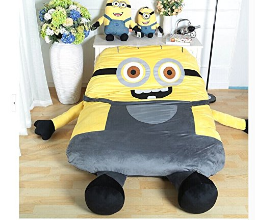 Funny Despicable Me Minions Sleeping Bag Sofa Bed Twin Bed ...