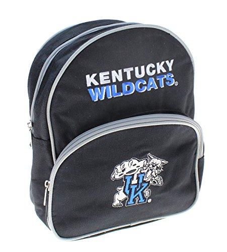 Logo Mini Backpack (Kentucky Wildcats NCAA Kids Big Cat Logo Mini Backpack, Black)