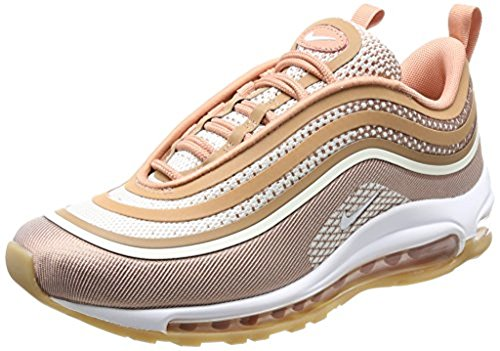 Nike Women's Nike Air Max 97 Ultra '17 Pink Sneaker 40(IT)-10(US) Pink (Max Air Gold Nike Womens)