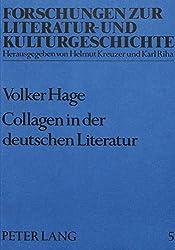 Collagen in der deutschen Literatur. Zur Praxis und Theorie eines Schreibverfahrens