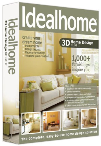 Ideal Home 3D Design Deluxe 12 Amazon Co Uk Software