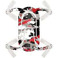 Skin For ZEROTECH Dobby Pocket Drone – Red Camo | MightySkins Protective, Durable, and Unique Vinyl Decal wrap cover | Easy To Apply, Remove, and Change Styles | Made in the USA