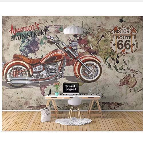 3D Wallpaper Custom Photo Motorbike Racer European-Style Graffiti Background Wall 3D Wall murals Wall Papers for Living Room Sssxka-360x280CM