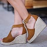 FAPIZI Women Shoes Women's Summer Espadrille Heel