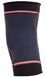 Kunto Fitness Knee Brace Compression Support Sleeve for Sports, Arthritis, Joint Pain, Injury Recovery and More! (Medium)