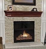 Pearl Mantels 490-60 Lindon Wood Fireplace Mantel