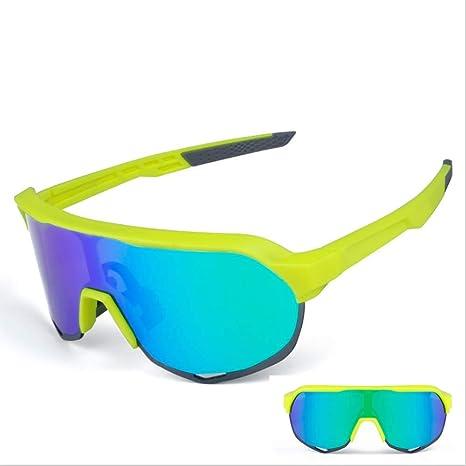 SCARVT Gafas de Ciclismo con 3 Lentes Intercambiables UV400 y ...