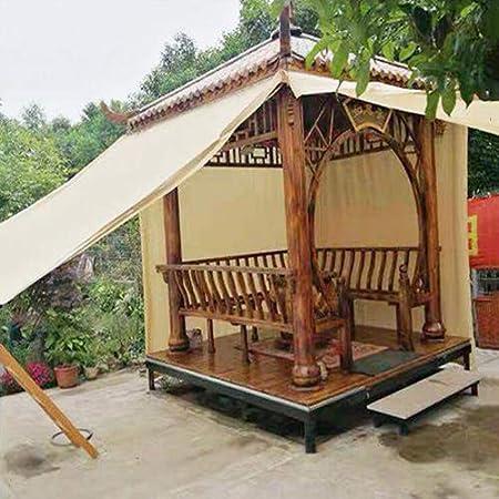 XLCZ Vela de la Sombra/Vela de toldo / 90% de protección UV/Tela de Sombra del Beige, para balcón, balcón, terraza: Amazon.es: Hogar