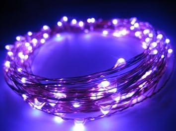 Eastchina® Flexible LED luces de cobre, luces de Navidad, luces LED con pilas, ...