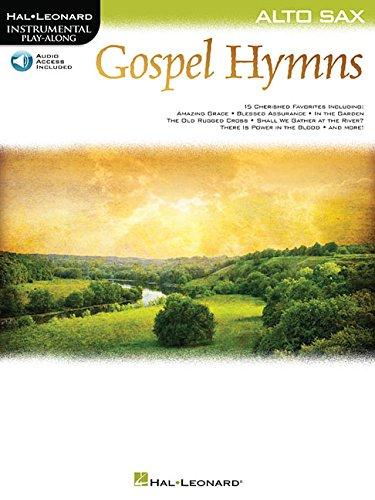 Gospel Hymns for Alto Sax: Instrumental Play-Along